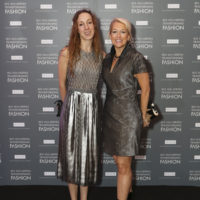 Iris van Herpen and Michelle Edwards Crosland