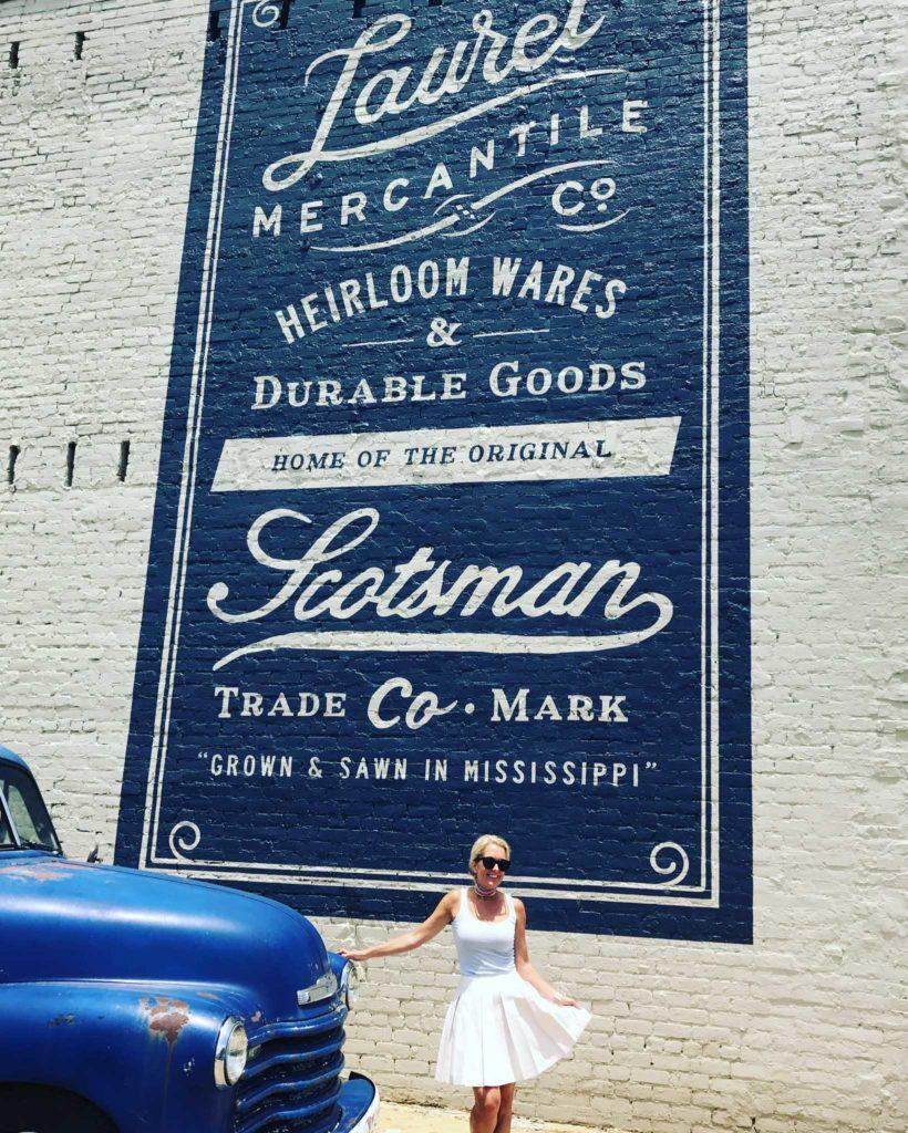 Scotsman, Laurel, Mississippi, A Rebel in Prada, Michelle Crosland, Laurel Mississippi, Atlanta fashion blog, travel blog, small town getaway, southern cities