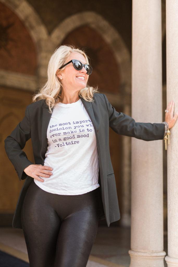 A Rebel in Prada, Michelle Crosland, Atlanta Fashion Blog, Zadig Voltaire, Calvin Klein, Keisha Noel
