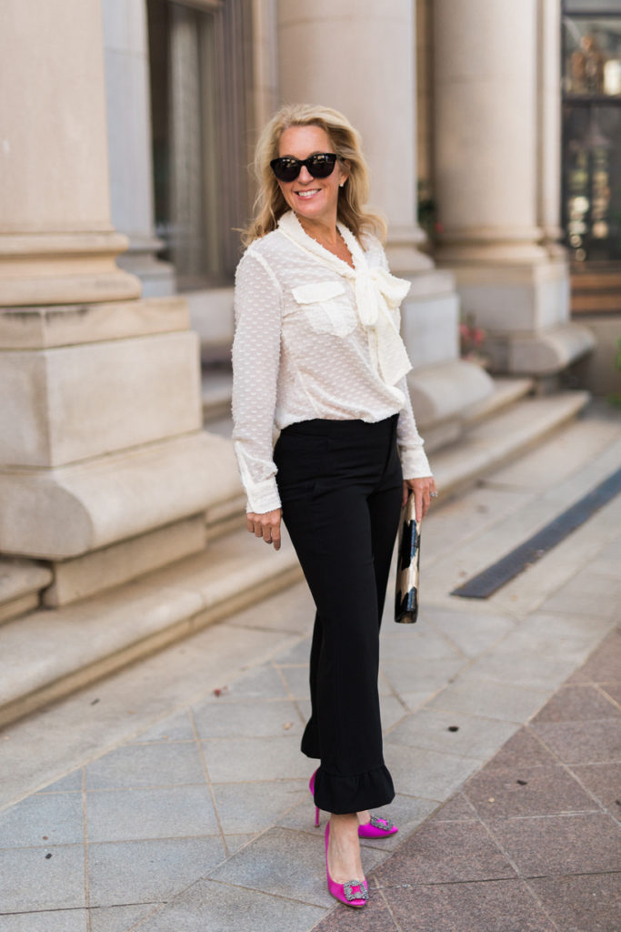 Michelle Crosland, A Rebel in Prada, Michelle Edwards Crosland, Atlanta Fashion Blog, Manolo Blahnik, Banana Republic